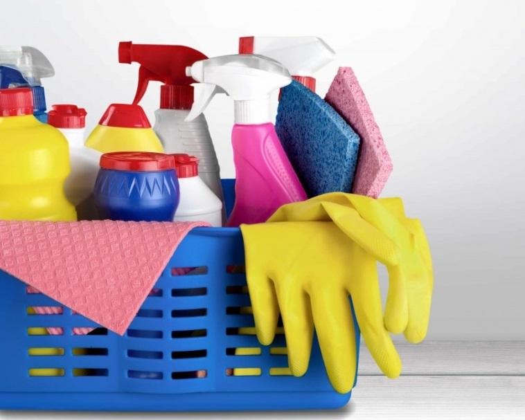 Изображение генеральной уборки дома